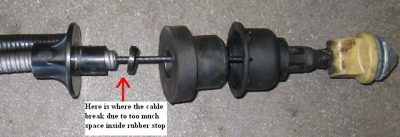 Re: self adjusting clutch cable not adjusting - Saab NG900