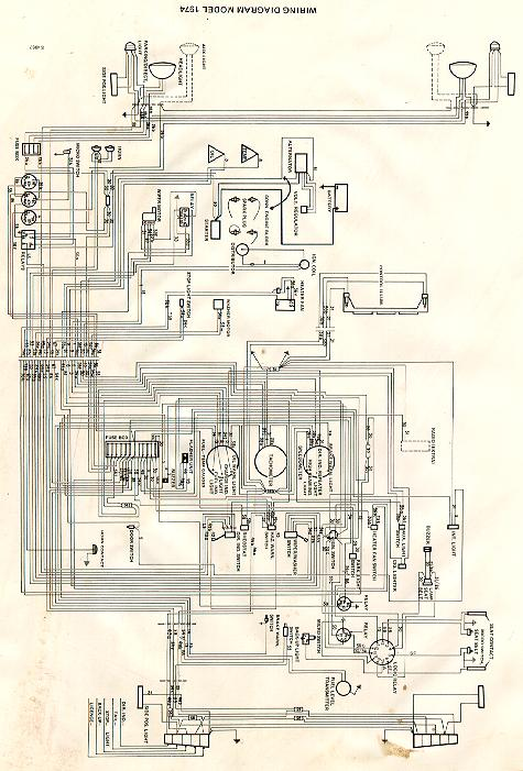 Factory Manual Wiring Diagram - No Luck